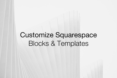 Customize your Squarespace website with custom code