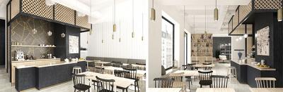 Creates photorealistic interior architectural rendering