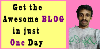 Create or Design the Best Blog for you