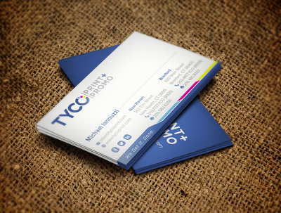 Design business card with creative concept