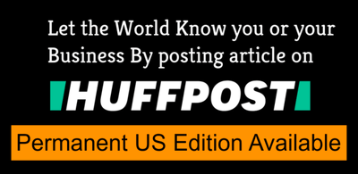 Get PREMIUM Guest Post Link on Huffington Post USA GUARANTEED.