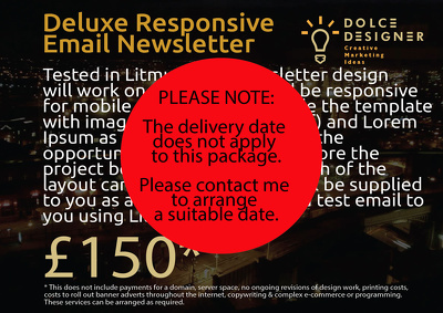 Deluxe Responsive Email Newsletter