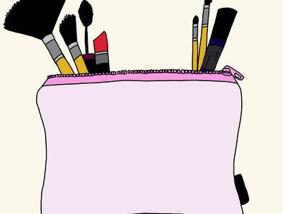 Design a make-up/beauty illustration