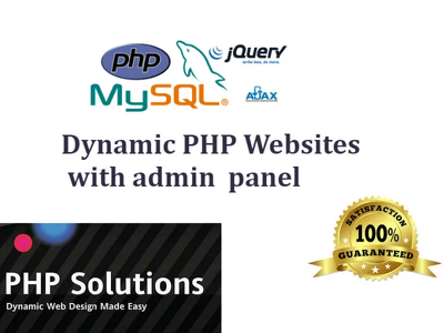 Create php website and solve php problems