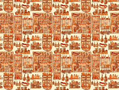 Create a seamless pattern in Adobe Photoshop.