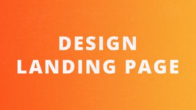 Desing your landing page
