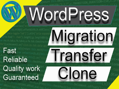 Clone, migrate or transfer your wordpress website