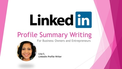Write an effective Linkedin Profile Summary that Generates Leads