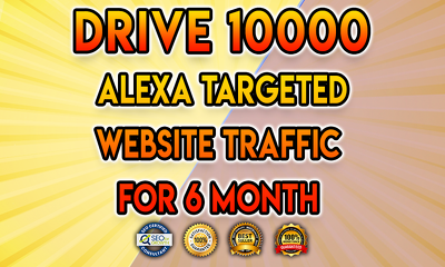 Drive 10000 alexa targeted website traffic