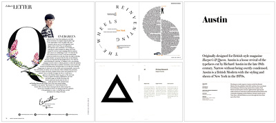 Attractive editorial layouts (10 pages)