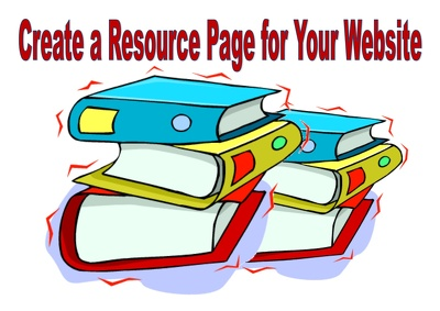 Create a 50 link resource page for your website
