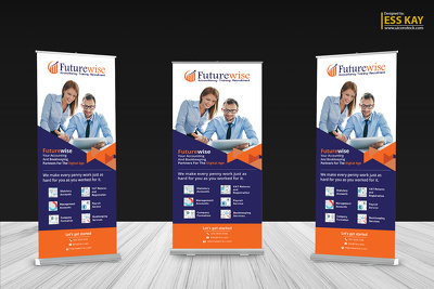 Design professional web and print banner