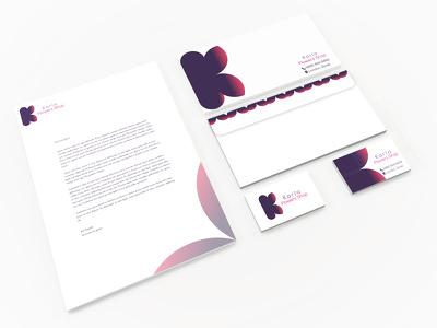 Design your business card, letterhead, envelope