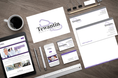 Design logo,business card & static bootstrap website