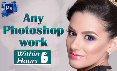 Do any Photoshop EDITING and RETOUCHNG of 2 photos