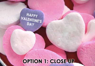 Include Your Logo Or Text On Valentine Heart Candy