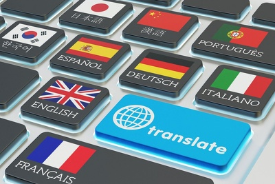Translate 600 words from english to german,italian or french