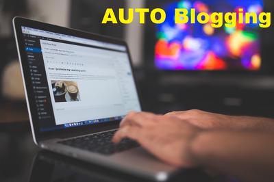 Create Wordpress Autoblogging Website