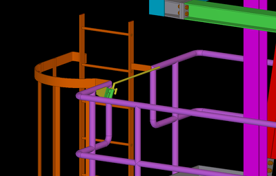 Detail your steel structure in Tekla with full fabrication pack.