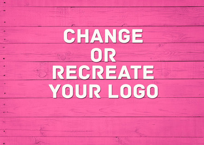 Change or Recreate Your Logo