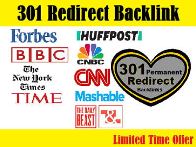 Do 301 redirect backlinks on forbes, bbc, cnn, nytimes etc