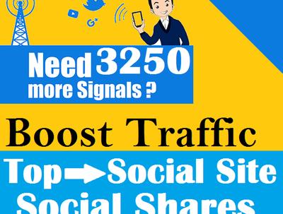 Top 5 Social Platform 3250 PR9 Social Signals Important SEO Rank