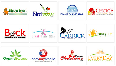 Design logo with 4 initial concepts including all quality work