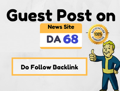 Publish Guest Post on High Authority News Site (DA68, PA74)