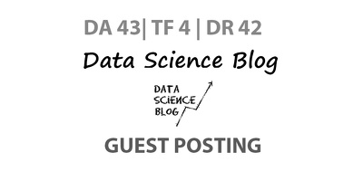 Publish a guest post on Data Science Blog - DA43, TF4, DR42