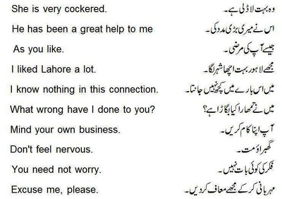 Translate 1000 words for you from Urdu to English and vice versa