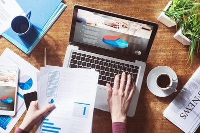 Create financials for your business plan