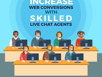 Be your 24x7 live chat agent in English and Arabic Languages