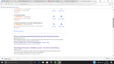 Optimize your websites for Googles search engine