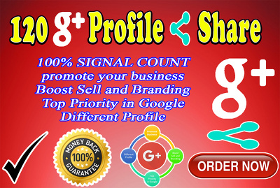 Share Your Link In 120 Different Google Plus Profile