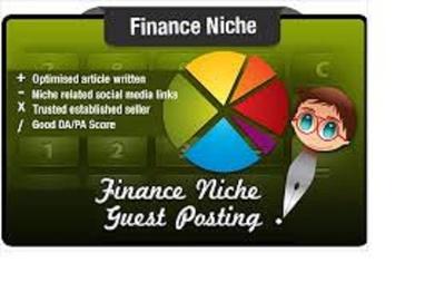 Publish article on 2 .eu finance sites