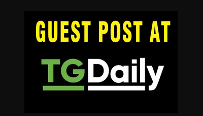 Publish Dofollow Guest Post At Tgdaily DA 77