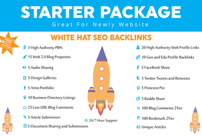 Do Unique Booster Linkbuilding White Hat Seo Package