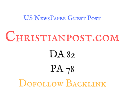 Write and guest post on US Newspaper site DA 80 plus