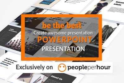 Design 10 slides attractive presentation in Microsoft PowerPoint