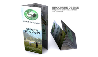 Design a professional brochure for your business or organisation