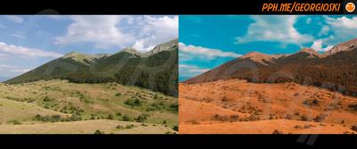 Color grade 5 images of your choice in a cinematic look