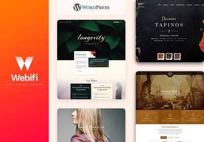 Build a beautiful bespoke and responsive website