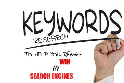 Search Engine Optimization Keyword Research ( keyword research)