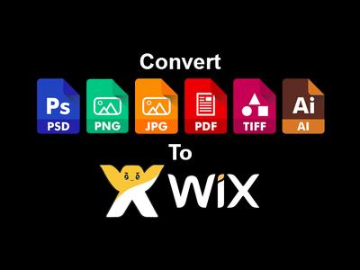 Convert A Psd, Png, Jpg Template To A Wix Website Template