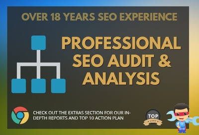 Do Full SEO audit and provide a top 5 SEO strategy action plan