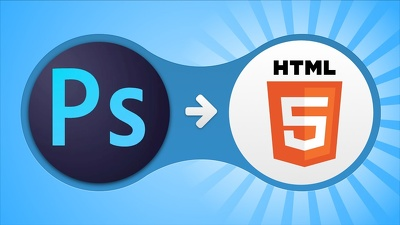 Convert PSD / AI / PNG to HTML5 using Bootstrap 3 / Bootstrap 4