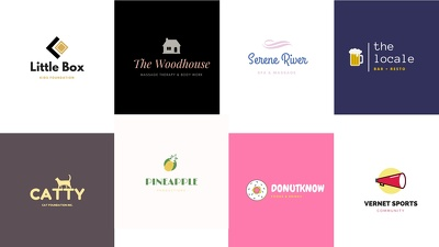 Simple logo for your business