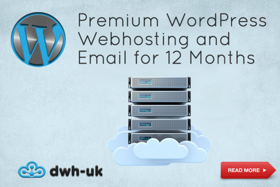Premium WordPress Webhosting and Email for 12 Months