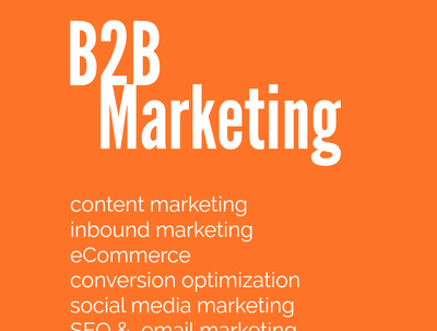 Write a 1,000-word article on B2B marketing