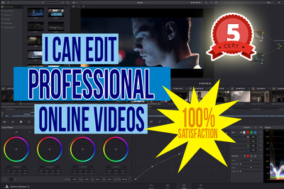 Edit your raw video footage into a professional 3min video!